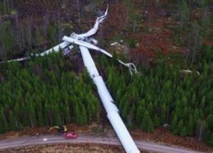 Downed Wind Turbine
